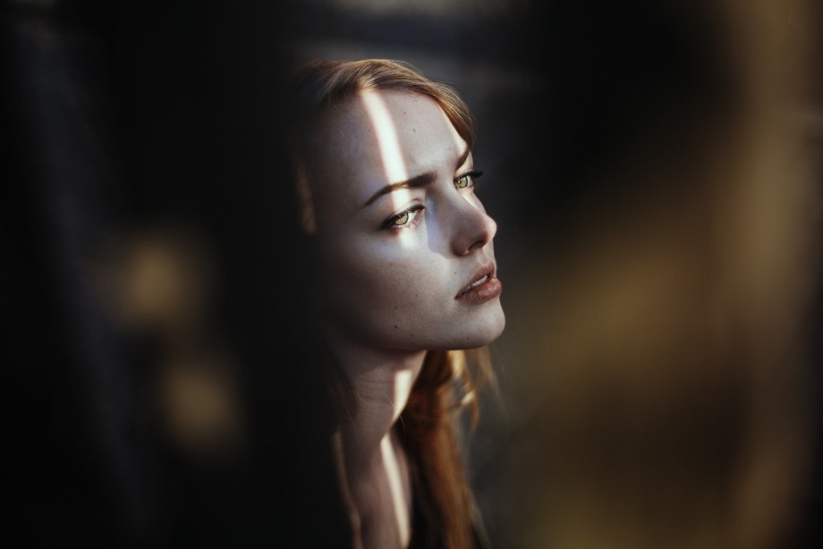 時尚攝影師Ines Rehberger藝術情緒人像攝影作品