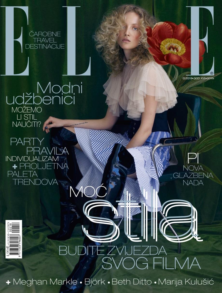 《ELLE》雜志2018年二月刊 |攝影: Aleksandra Zaborowska