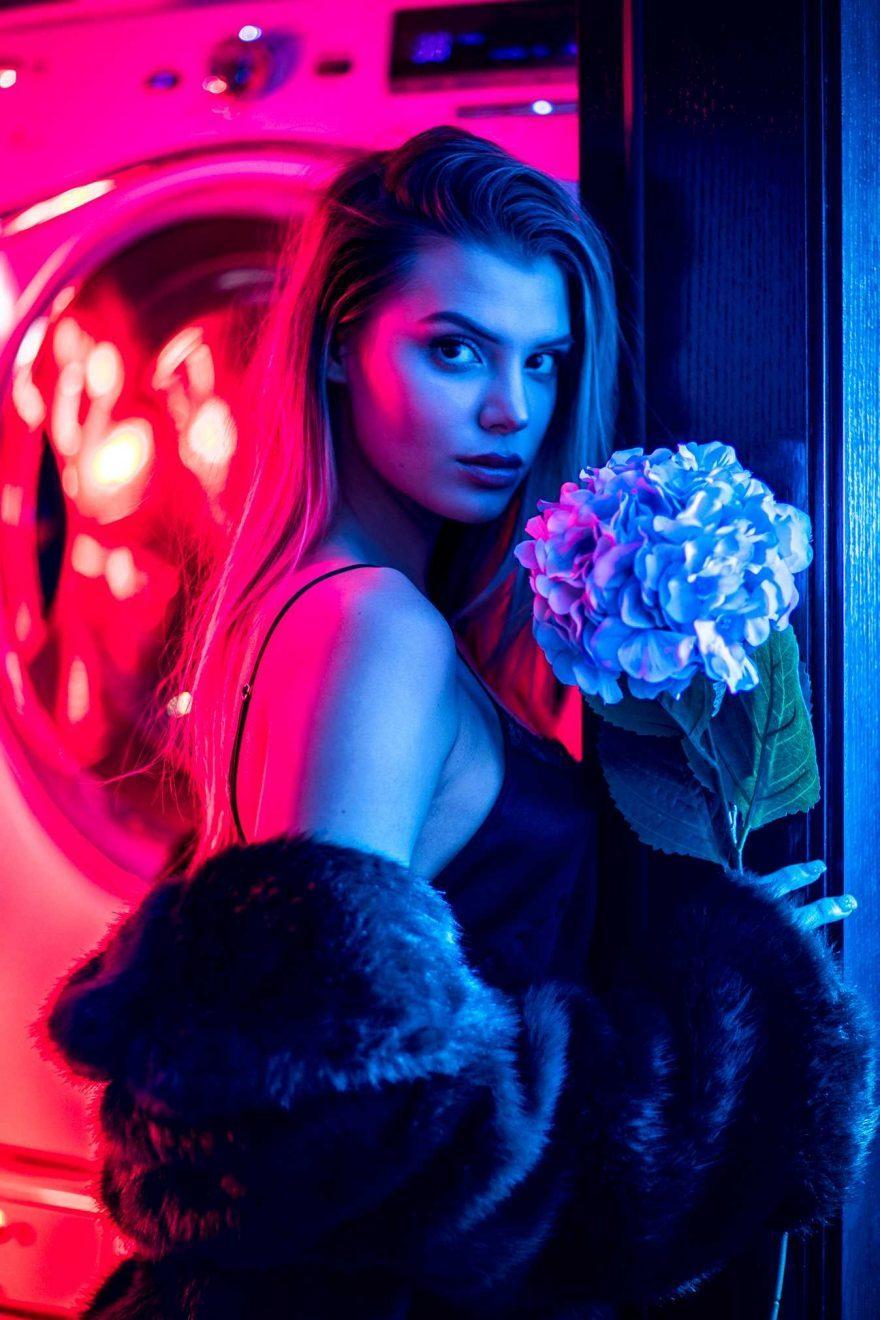 時尚攝影師James Zwadlo的時尚人像美女攝影
