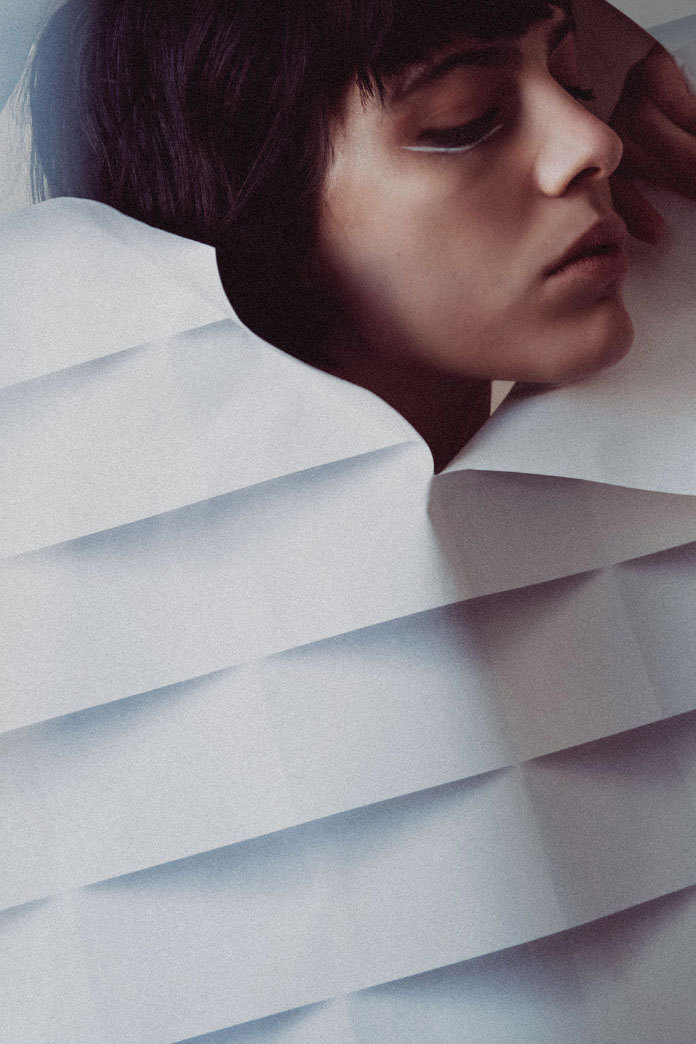 時尚攝影師Arnaud Ele和Laura Knoops:模特Margot攝影系列