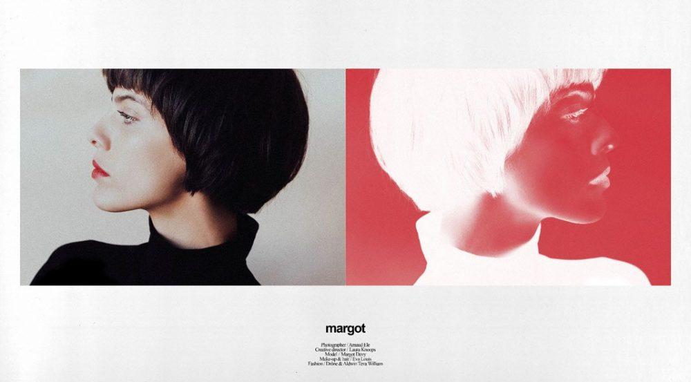 时尚摄影师Arnaud Ele和Laura Knoops:模特Margot摄影系列
